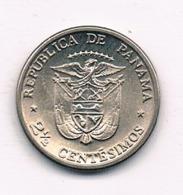 2 1/2 CENTESIMOS  1973 PANAMA /8379/ - Panama
