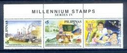 O52- Philippines Philippinen Pilipinas Filipinas 2000 Millennium Stamps. - Philippines
