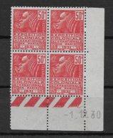 Coin Daté N° 272 De 1930 (tye I) ** TTBE - Cote Y&T 2020 De 8 € - 1930-1939