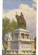V 10514 - Budapest - La Statua Del Re Santo Stefano Vigila Sulle Sorti Dell'Ungheria - Ungheria