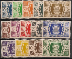 Wallis Et Futuna - 1944 - N°Yv. 133 à 146 - Série De Londres - Neuf Luxe ** / MNH / Postfrisch - Wallis Und Futuna
