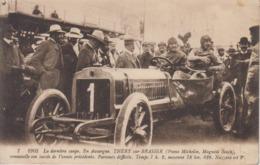CPA 1905 - La Dernière Coupe - En Auvergne - Théry Sur Brasier (pneus Michelin, Magnéto Bosch) Renouvelle Son Succès ... - Grand Prix / F1