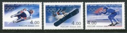 RUSSIA 2006 Winter Olympic Games, Turin  MNH / **.  Michel 1300-02 - 1992-.... Federación