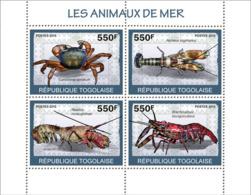Togo 2010 MNH - Sea Animals. YT 2068-2071, Mi 3409-3412 - Togo (1960-...)