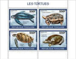 Togo 2010 MNH - Turtles. YT 2084-2087, Mi 3424-3427 - Togo (1960-...)