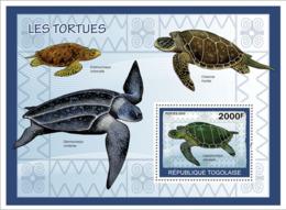 Togo 2010 MNH - Turtles. YT 374, Mi 3428/BL496 - Togo (1960-...)
