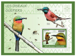 Togo 2010 MNH - The Bee-Eaters Birds. YT 384, Mi 3433/BL497 - Togo (1960-...)