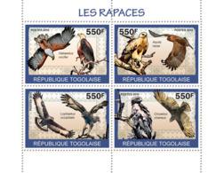 Togo 2010 MNH - Birds Of Prey. YT 2120-2123, Mi 3439-3442 - Togo (1960-...)