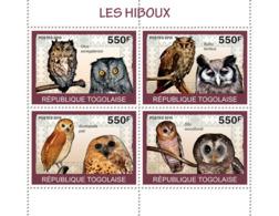 Togo 2010 MNH - Owls. YT 2112-2115, Mi 3444-3447 - Togo (1960-...)