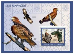 Togo 2010 MNH - Birds Of Prey. YT 383, Mi 3443/BL499 - Togo (1960-...)