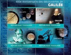 Togo 2010 MNH - 400th Anniversary Of Galileo's Discoveries. YT 2168-2171, Mi 3489-3492 - Togo (1960-...)