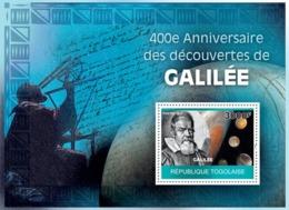 Togo 2010 MNH - 400th Anniversary Of Galileo's Discoveries. YT 395, Mi 3493/BL509 - Togo (1960-...)