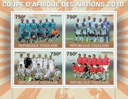 Togo 2010 MNH - Africa Football Cup Of Nations 2010 (Nigeria, Ghana, Algeria, Egypt). YT 2228-2231, Mi 3683-3686 - Togo (1960-...)