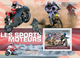Togo 2010 MNH - Motorsport (Speedway). YT 419, Mi 3648/BL539 - Togo (1960-...)