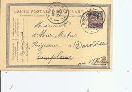 Belgique ( EP De 1921 De Soye En Relais Vers Temploux à Voir) - Stamped Stationery