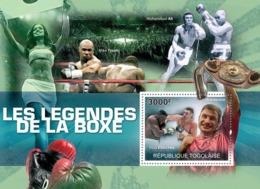 Togo 2010 MNH - Boxing Legends (Vitaly Klitschko). YT 423, Mi 3603/BL530 - Togo (1960-...)