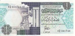 LIBYE 1/2 DINAR ND1990 UNC P 53 - Libië