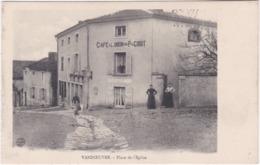 54. VANDOEUVRE. Place De L'Eglise (Café De L'Union) - Vandoeuvre Les Nancy
