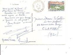 Cote Des Somalis ( CP De 1966 De Djibouti Vers La France à Voir) - Lettres & Documents