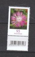 Deutschland BRD **   3470  Blumen Flockenblume SZd 1 Eine Marke Mit Nummer    Neuausgabe 1.7.2019 - [7] República Federal
