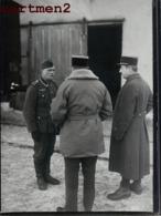CENSURE MILITAIRE OFFICIER FRANCAIS PARLANT A UN PRISONNIER ALLEMAND CINEMATROGRAPHIQUE DE L'ARMEE GUERRE 40 - Oorlog, Militair