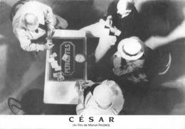 Partie De Cartes César Marcel Pagnol Raimu Pernod Fils Pastis Absinthe - Cartes à Jouer