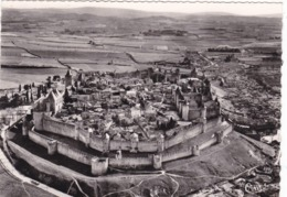 11. CARCASSONNE. 5 CPSM. VUES  DE LA CITE MÉDIÉVALE. - Carcassonne