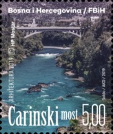 2019, Bridges, Mostar, Bosnia And Herzegovina, MNH - Bosnie-Herzegovine