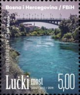 2019, Bridges, Mostar, Bosnia And Herzegovina, MNH - Bosnien-Herzegowina