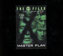 The X Files Master Plan Video 1996 Go Card Dk - Affiches Sur Carte