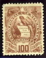 Guatemala. Sc #39. Mint. OG. * - Guatemala