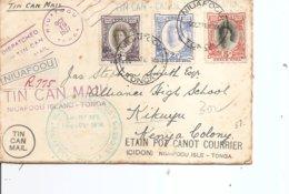 Tonga ( Lettre De 1937 De Niuafoou  Vers Le Kénya à Voir) - Tonga (...-1970)