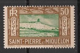 SPM - 1932-33 - N°Yv. 147 - Phare 50c - Neuf Luxe ** / MNH / Postfrisch - Ungebraucht