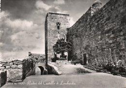 ENNA-RUDERI DEL CASTELLO DI LOMBARDIA-VERA FOTO - Enna