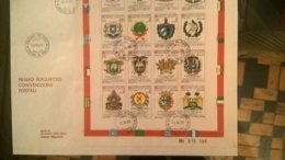 SMOM CONVENZIONI POSTALI 1977/1986 Fdc - Malte (Ordre De)