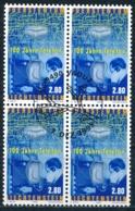 Zumstein 1131 / Michel 11189 Viererblockserie Mit ET-Zentrumstempel - Liechtenstein