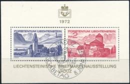 Zumstein 503 / Michel BL 9 Mit ET-Zentrumstempel - Blocks & Kleinbögen