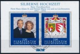 Zumstein 982 / Michel BL 14 Mit ET-Zentrumstempel - Liechtenstein