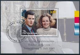 Zumstein 1007 / Michel BL 15 Mit ET-Zentrumstempel - Blocks & Kleinbögen