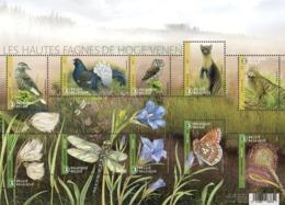Blok 257** De Hoge Venen (60 Jaar Uniek Natuurreservaat) 4727/36** Les Hautes Fagnes (Trés Beau!!) - Belgium