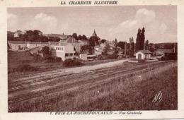 Brie-la Rochefoucauld-vue Générale-la Gare - France