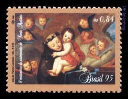 BRAZIL 1995 Mint MNH // St. Antonio, 800th Birth Centenary - Nuovi