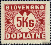 Slovakia P10x Unmounted Mint / Never Hinged 1939 Porto Brand - Slovakia