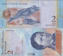 Venezuela Pick-number: 88e (27.12.2012) Uncirculated 2012 2 Bolivares - Venezuela