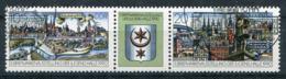 DDR Michel-Nr. 3338-3339 Dreierstreifen Gestempelt - Usati