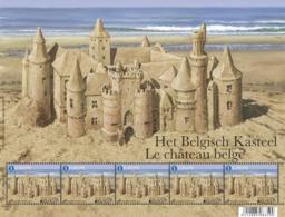 Europa  4707** Het Belgisch Kasteel (Zandkasteel) - Le Château Belge (de Sable) - Blocks & Sheetlets 1962-....