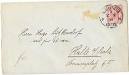 DR GA U 13 Leipzig 1891 Nach Halle - Allemagne