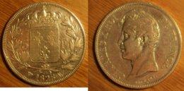 Charles X - 5 Francs 1828W - J. 5 Francs