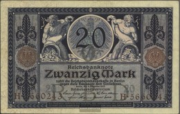 Deutsches Reich Rosenbg: 53 Usato (III) 1915 20 Mark - 20 Mark