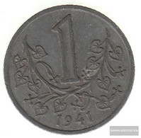 Bohemia And Moravia Jägernr: 623 1942 Very Fine Zinc Very Fine 1942 1 Crown Wappenlöwe - [ 4] 1933-1945 : Tercer Reich